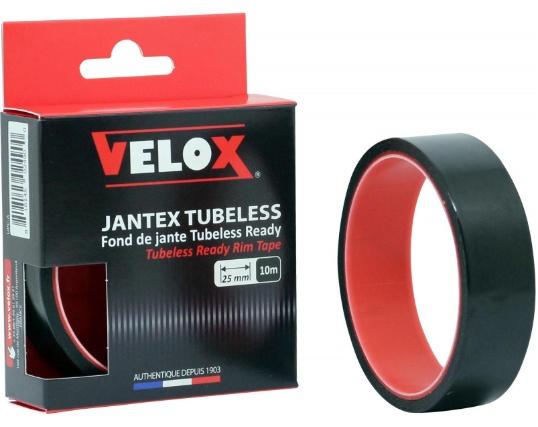 Velox velgtape VTT Tubeless Ready 25 mm / 10 meter zwart