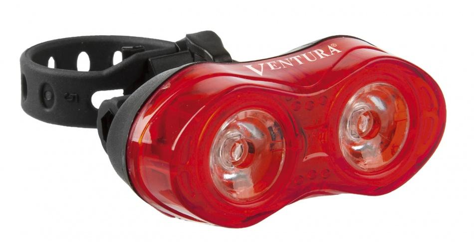 Ventura achterlicht 2 led rood