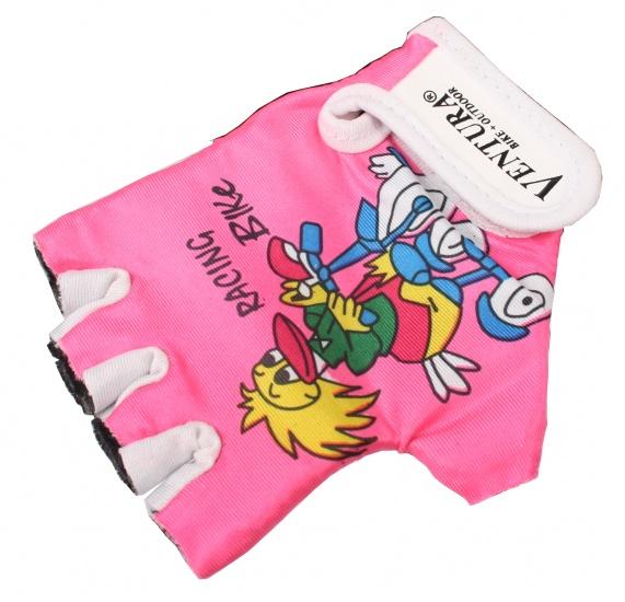 Ventura Fiets Handschoenen Kind Roze Maat XS