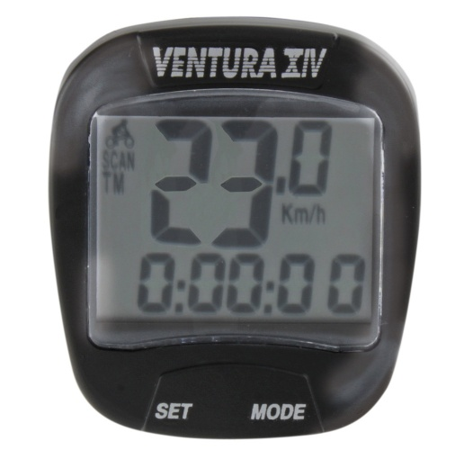 Ventura Fietscomputer XIV 14 Functies