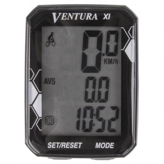 Korting Ventura Fietscomputer Xl 11 Functies Zwart