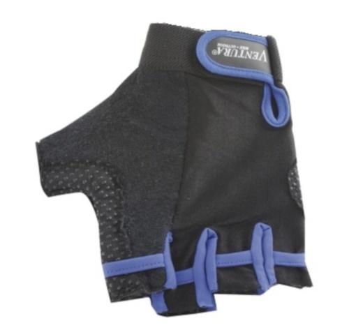 Ventura Fietshandschoenen Gel Blauw Zwart Maat XL