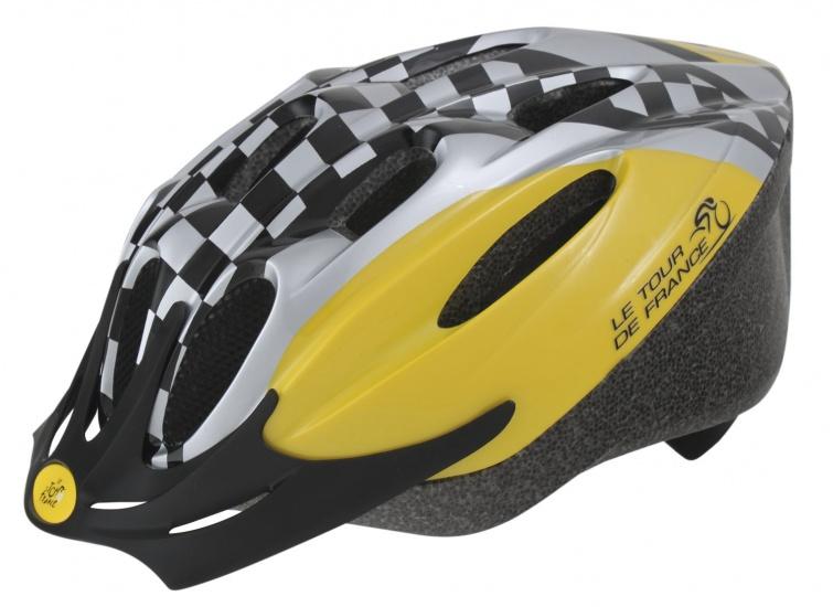 Ventura Fietshelm Tour De France Geblokt Maat 58 61 cm (L)