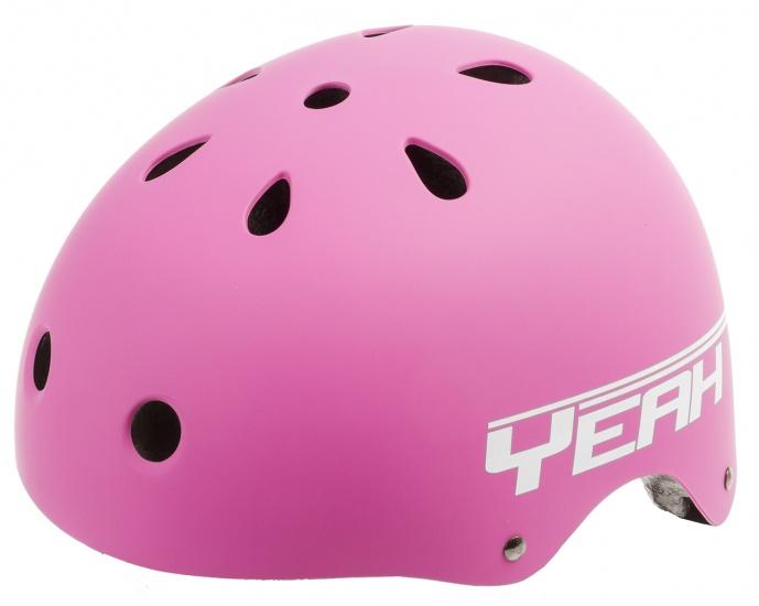 Ventura Freestyle BMX Helm Mat Roze Maat L (58 61 cm)