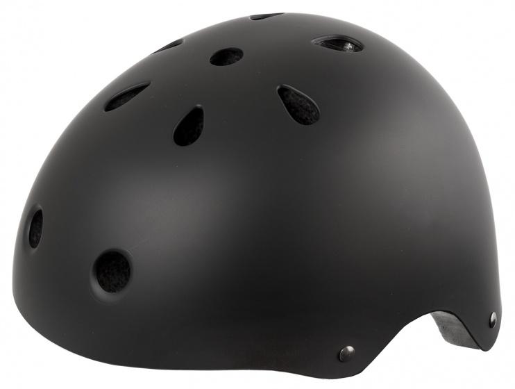 Ventura Freestyle BMX helm mat zwart maat 54/58 cm