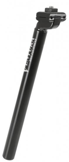 Ventura Zadelpen vast 26,6 x 300 mm staal / aluminium zwart