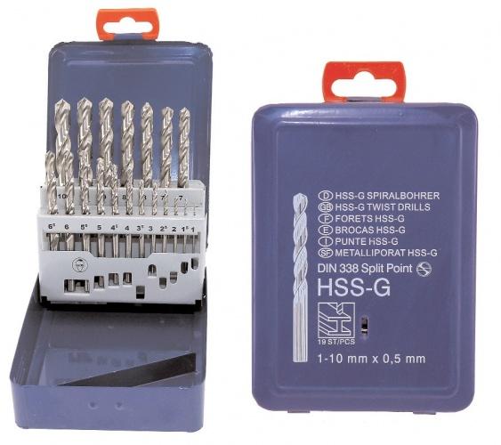 Amigo Boorset Staalboren HSS G 25 Delig (298922)