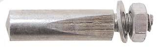 Amigo Crankspie 9,5 mm Staal Zilver (12 Stuks)