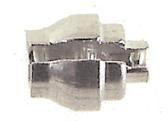 Amigo Kabelnippel Weinmann Aluminium Met Gleuf 25 Stuks