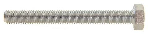 Bofix zeskantkopbouten M8 x 80 mm staal 12 stuks