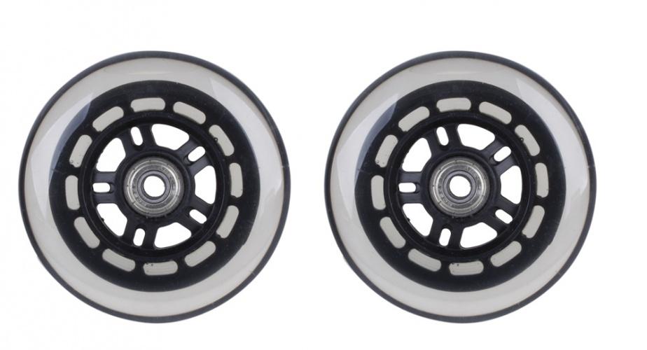 M Wave Vervang wieltjes voor Mini Scooter 100 mm