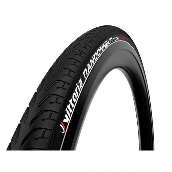 Vittoria buitenband Randonneur Tech G+ 28 inch (37 622) zwart