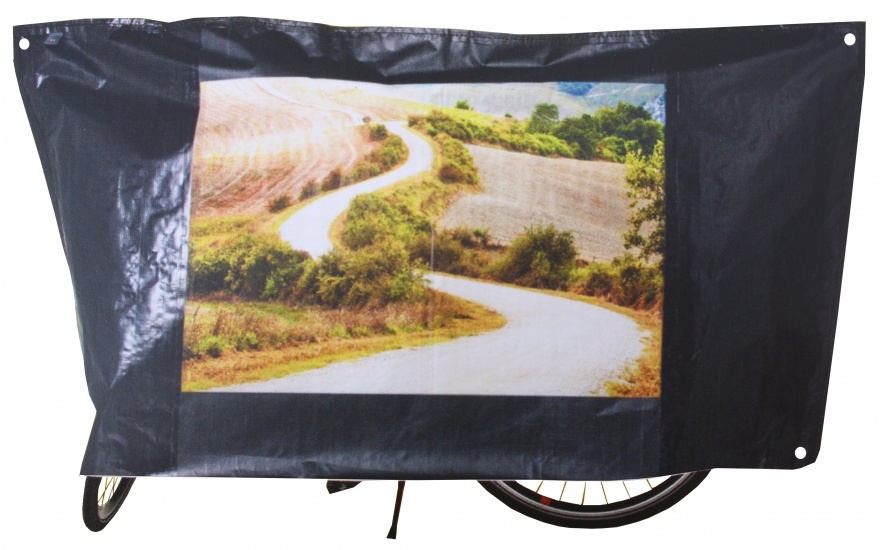 VK fietshoes Classic 210 x 110 cm zwart
