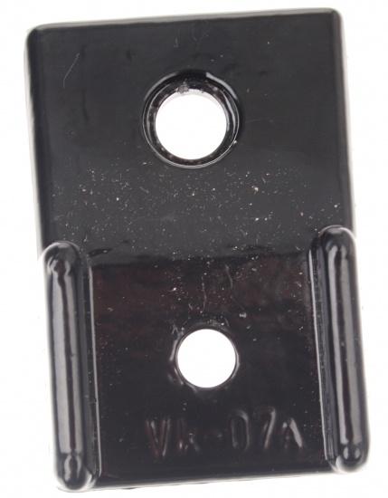 VK Zadelverzetter 40 mm ATB / Race aluminium zwart