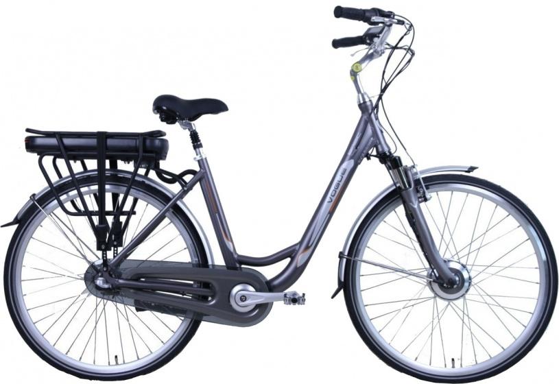 Vogue Basic 28 Inch 50 cm Dames 3V Rollerbrake Matgrijs