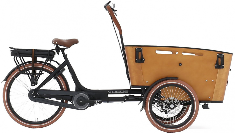 Vogue - Carry 3 26 Inch 48 Cm Unisex 7v Rollerbrake Matzwart/bruin