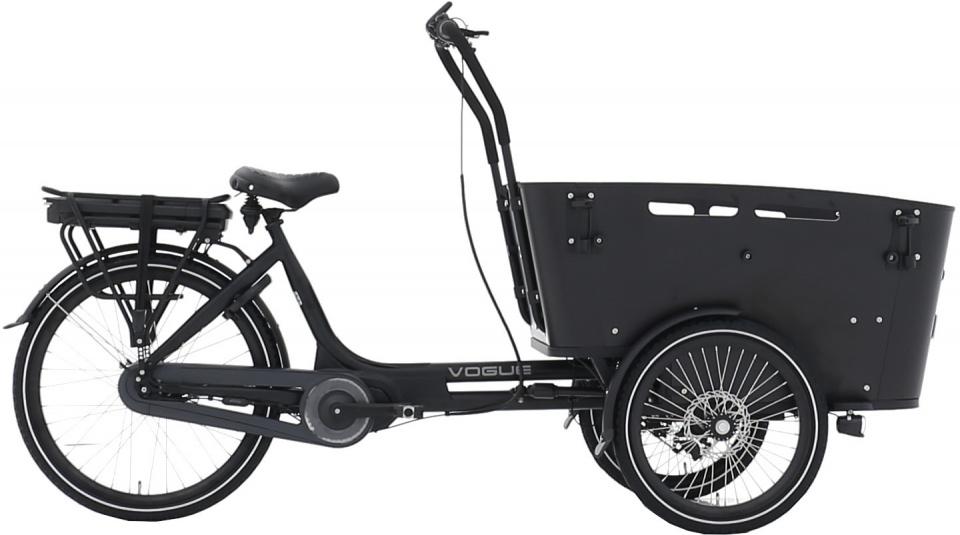 Vogue - Carry 3 26 Inch 48 Cm Unisex 7v Rollerbrake Matzwart/zwart