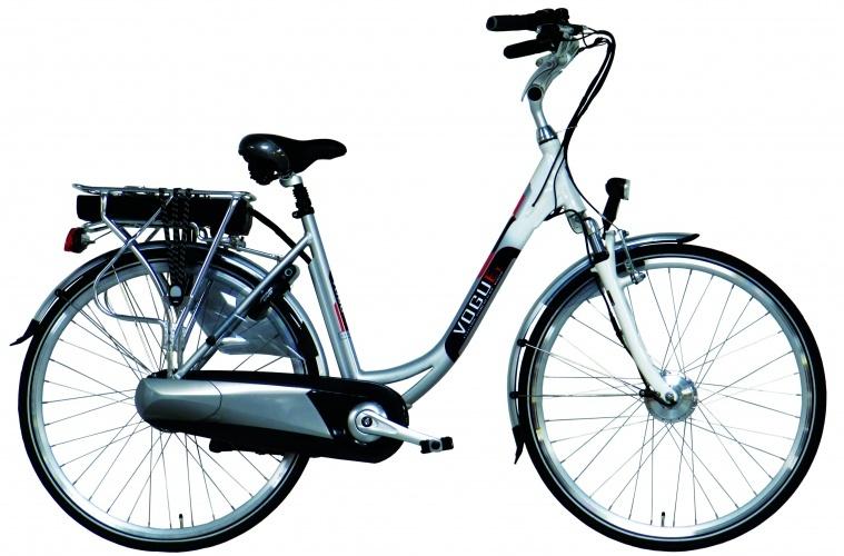 Vogue E Bike E1 28 Inch 53 cm Dames 8V Rollerbrake Zilver