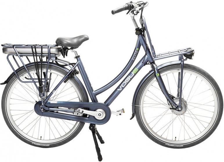Vogue Elite 28 Inch 50 cm Dames 3V Rollerbrake Donkerblauw