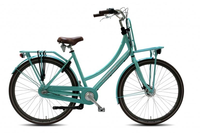 Vogue Elite 28 Inch 50 cm Dames 3V Rollerbrake Mintgroen