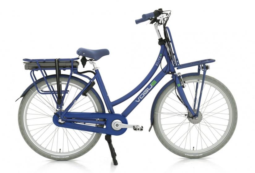 Vogue Elite 28 Inch 57 cm Dames 3V Rollerbrake Blauw - Elektrische fiets