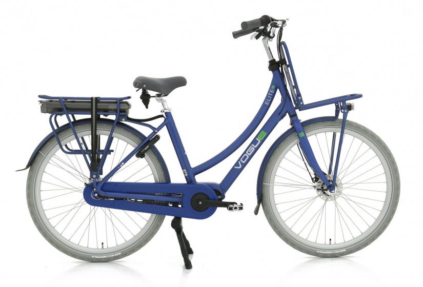 Vogue Elite 28 Inch 57 cm Dames 7V Rollerbrake Donkerblauw - Elektrische fiets