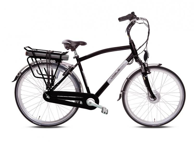 Vogue Infinity 28 Inch 53 cm Heren 8V Rollerbrake Zwart