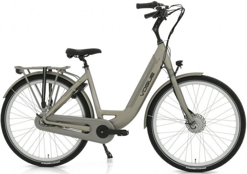 Vogue Mestengo 28 Inch 49 cm Dames 8V Rollerbrake Grijs - Elektrische fiets