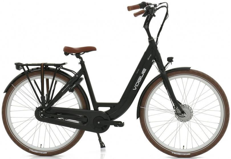 Vogue Mestengo 28 Inch 49 cm Dames 8V Rollerbrake Zwart - Elektrische fiets