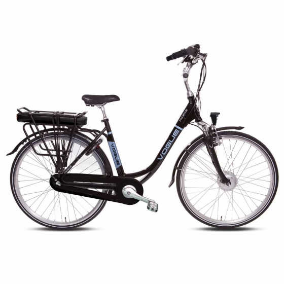 Vogue Premium 28 Inch 51 cm Dames 7V Rollerbrake Zwart