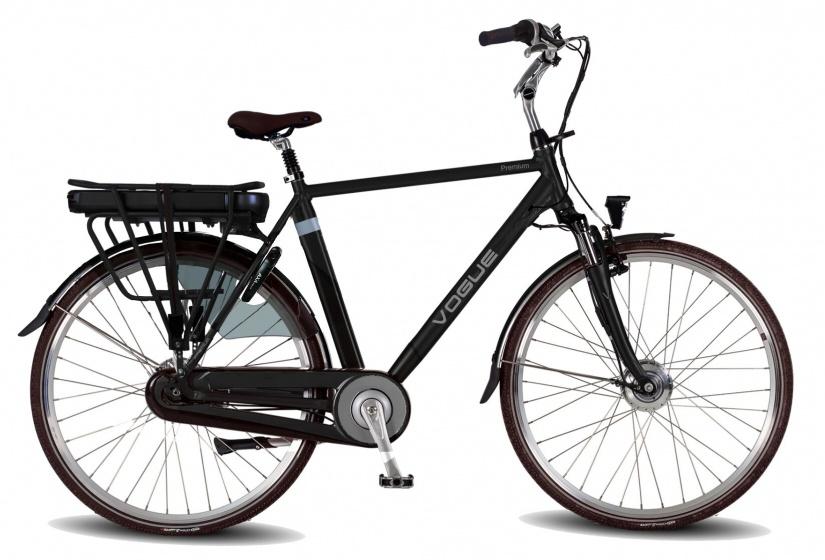 Vogue Premium 28 Inch 54 cm Heren 7V Rollerbrake Zwart