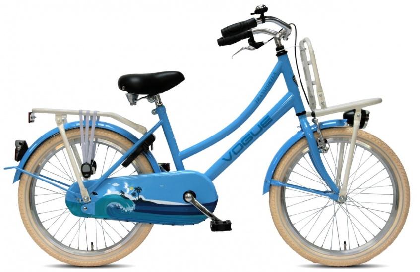 Vogue - Transporter 20 Inch 34 Cm Meisjes Terugtraprem Blauw