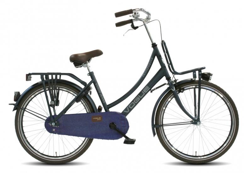 Vogue - Transporter 24 Inch 42 Cm Meisjes Terugtraprem Jeans Blauw