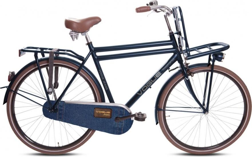 Vogue - Transporter 28 Inch 50 Cm Heren Terugtraprem Jeansblauw