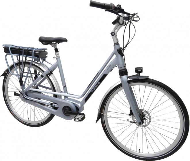 Vogue Zenda 28 Inch 51 cm Dames 8V Hydraulische schijfrem Lichtblauw - Elektrische fiets