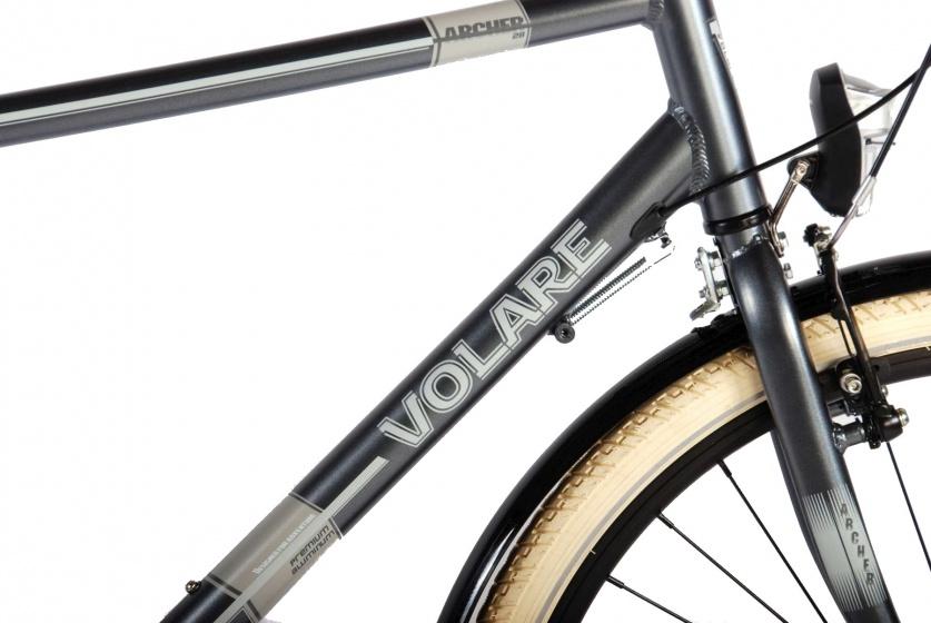 volare archer 28 inch 52 cm heren 3v terugtraprem grijs internet bikes. Black Bedroom Furniture Sets. Home Design Ideas