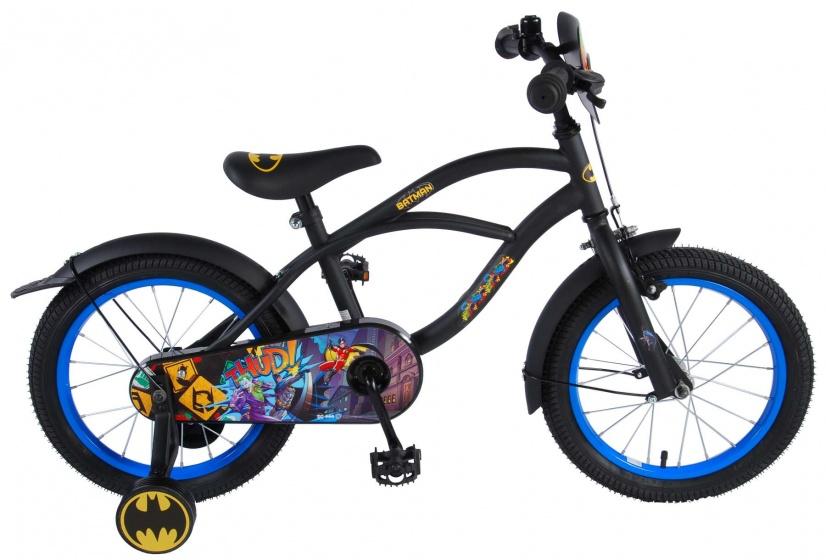Volare - Batman 16 Inch 25,4 Cm Jongens Terugtraprem Zwart