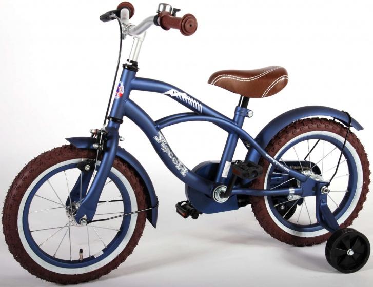 Yipeeh Blue Cruiser 14 Inch 23,5 cm Jongens Terugtraprem Matblauw