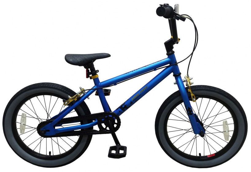 Volare Cool Rider 18 Inch 28 cm Jongens Knijprem Blauw/Zwart