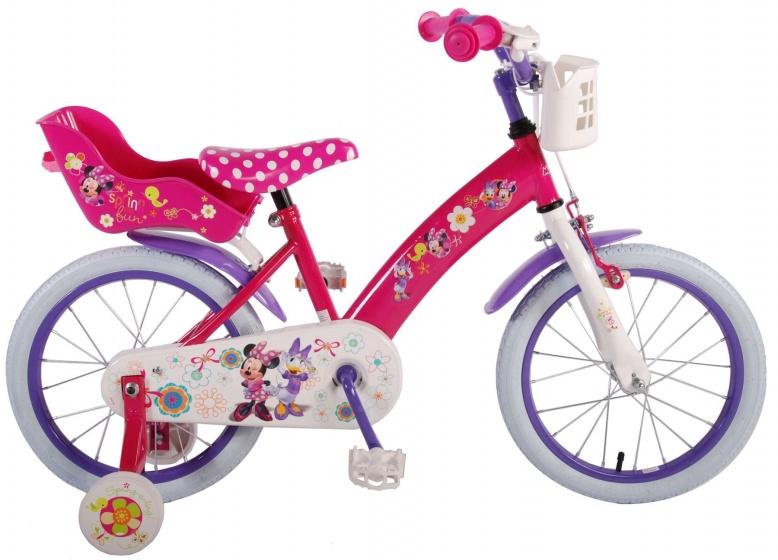 Volare Minnie Bow Tique 16 Inch 25,4 cm Meisjes Terugtraprem Roze