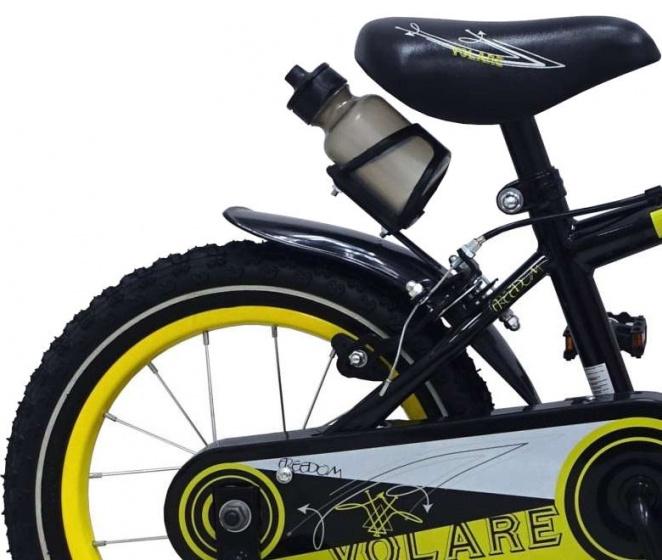 volare freedom 14 zoll 23 5 cm jungen felgenbremse schwarz internet bikes. Black Bedroom Furniture Sets. Home Design Ideas