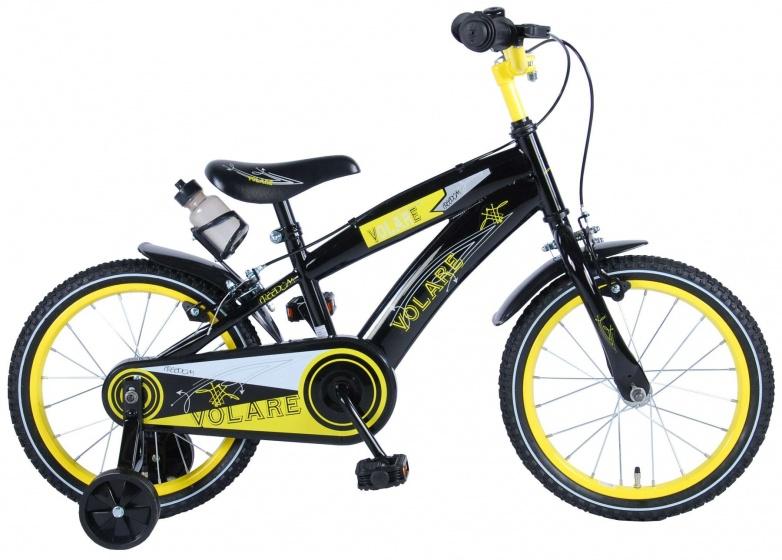 volare freedom 16 zoll 25 4 cm jungen felgenbremse schwarz internet bikes. Black Bedroom Furniture Sets. Home Design Ideas