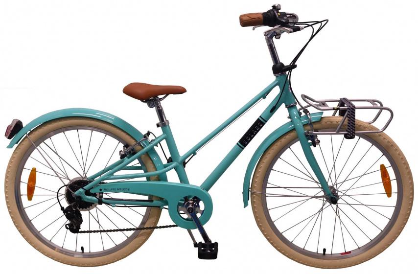 Volare Melody 24 Inch 37 cm Meisjes 6V V Brakes Turquoise