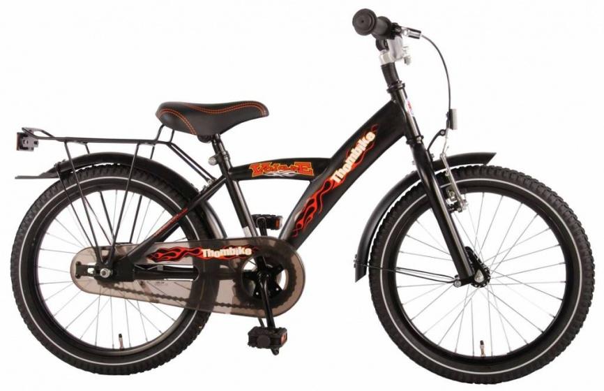 volare thombike 18 zoll jungen r cktrittbremse schwarz internet bikes. Black Bedroom Furniture Sets. Home Design Ideas