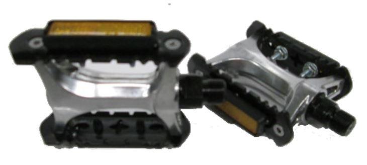 VP Platformpedaal Aluminium 9/16 Inch zwart set