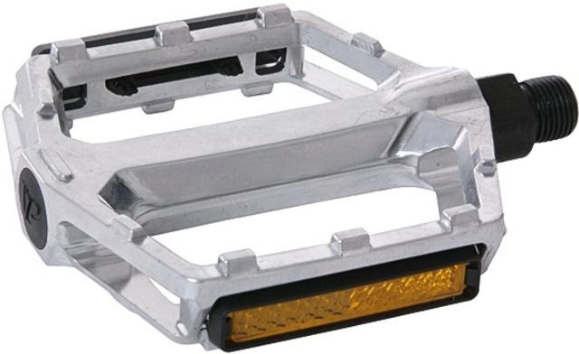 VP platformpedalen BMX 530 9/16 Inch staal zilver per set