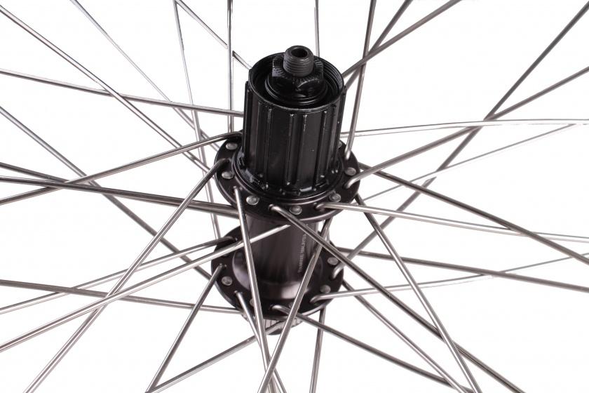 VWP achterwiel 26 inch schijfrem ZAC2000 36G zwart