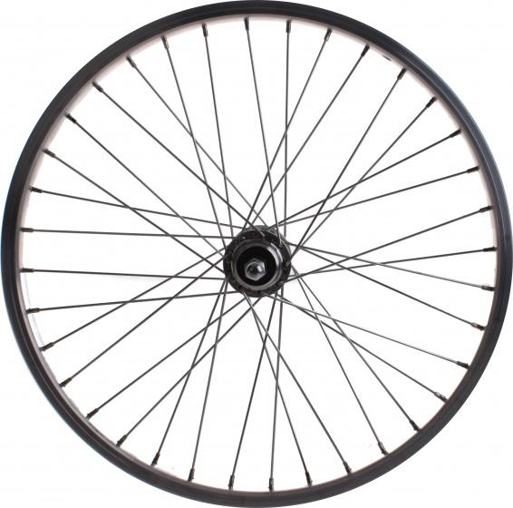 VWP achterwiel Alesa freewheel 20 x 1.75 inch velgrem alu zilver