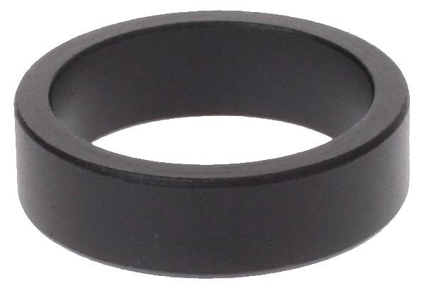 Korting Vwp Balhoofdring 1 1 8 Inch X 10mm Aluminium Zwart 50 Stuks