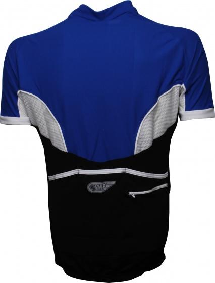 VWP fietsshirt KM Bonfanti heren blauw maat M